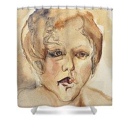 The Gentle Listener Shower Curtain