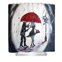 The Gentleman Shower Curtain by Roxy Rich