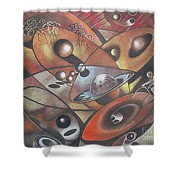The Geometer Shower Curtain