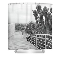 The Getty Shower Curtain