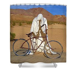 The Ghost Rider Shower Curtain