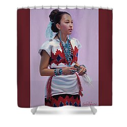 The Gift Shower Curtain