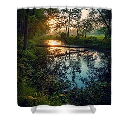 Shower Curtain featuring the photograph The Gift by Kendall McKernon