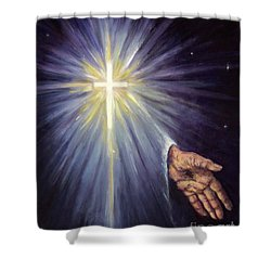 The Gift Of The Saviour Shower Curtain