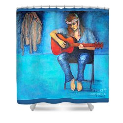 Music In The Alhambra Shower Curtain