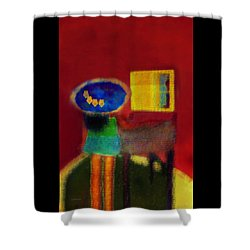 The Girl In The Mirror 2 Shower Curtain