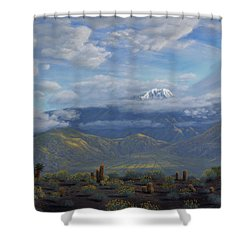 The Giver Of Life Shower Curtain by Mark Junge