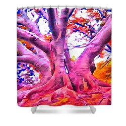 The Giving Tree 3 Shower Curtain