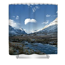 The Glen Of Weeping Shower Curtain