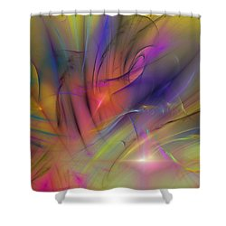 The Gloaming Shower Curtain by David Lane