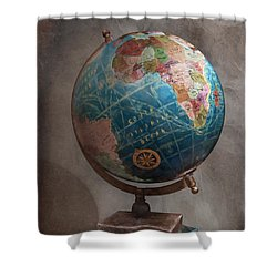 The Globe Shower Curtain