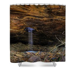 Shower Curtain featuring the photograph The Glory Hole by Michael Dougherty