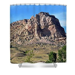 The Glory Of Wyoming Shower Curtain