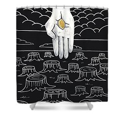 The God Who Restores Shower Curtain