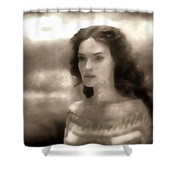 The Goddess Hera Shower Curtain