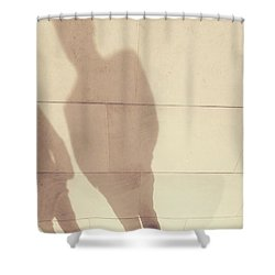 The Golden Path - Shadows Shower Curtain