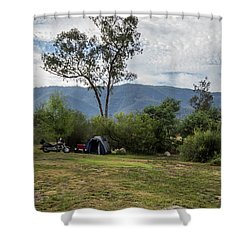 Shower Curtain featuring the photograph The Good Life by Linda Lees