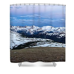The Gore Range At Sunrise - Rocky Mountain National Park Shower Curtain