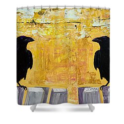 The Gossips Shower Curtain
