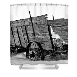 The Grain Wagon Shower Curtain