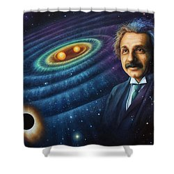 The Gravity Of Thought Shower Curtain