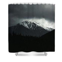 Turbulence Over Torreys Shower Curtain