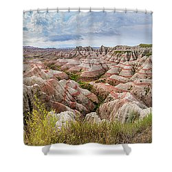 Deep And Wide Panorama Shower Curtain