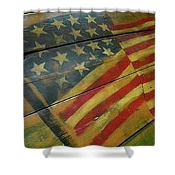The Great American West Cafe  Shower Curtain