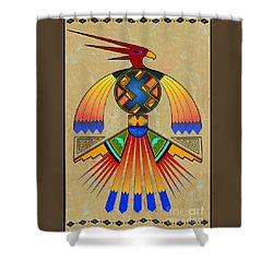 The Great Bird Spirit Shower Curtain