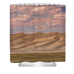 The Great Colorado Sand Dunes  177 Shower Curtain by James BO  Insogna