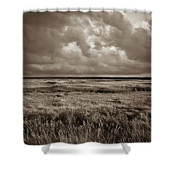 The Great Marsh Shower Curtain