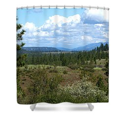 Shower Curtain featuring the photograph The Great Northwest by Ben Upham III