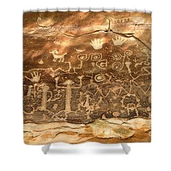The Great Panel Shower Curtain by David Lee Thompson