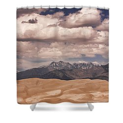 The Great Sand Dunes 88 Shower Curtain by James BO  Insogna