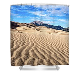 The Great Sand Dunes Of Colorado Shower Curtain