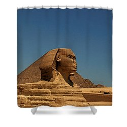 The Great Sphinx Of Giza 2 Shower Curtain by Joe  Ng