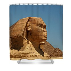 The Great Sphinx Of Giza Shower Curtain by Joe  Ng