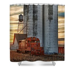 The Great Western Sugar Mill Longmont Colorado Shower Curtain