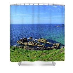 The Greater Saltee Island Shower Curtain