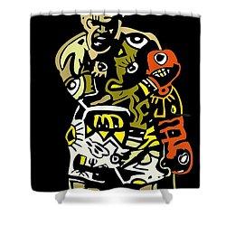 The Greatest  Shower Curtain by Kamoni Khem