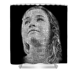 The Greatest Story Never Told Shower Curtain