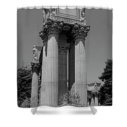 The Greek Architecture Shower Curtain