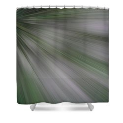 The Green Array Shower Curtain
