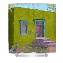 The Green House Shower Curtain