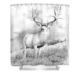 The Greenwood Buck Shower Curtain