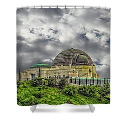The Griffith Observatory Shower Curtain
