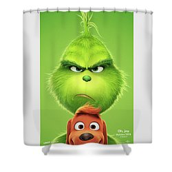 The Grinch 2018 A Shower Curtain
