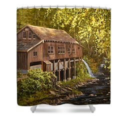 The Grist Mill Shower Curtain