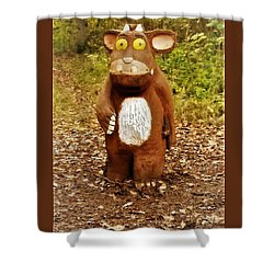 The Gruffalo Shower Curtain