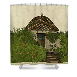 The Guard House Shower Curtain